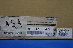New Shimano ASA Cycling Shoe, Platform, Casual, Natural Hemp *Euro Size 36*