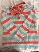 LADIES LONG SLEEVE TOP SIZE 10 STRIPED