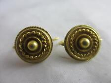 Yellow Gold Earrings Victorian Fine Jewellery