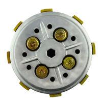 Clutch Basket & 5pcs Clutch Friction Plates Assy For Yamaha YBR125 2002-2013