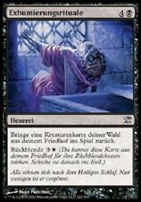 4 x exhumierungsrituale/unburial Consejo-Innistrad-alemán ** Playset **