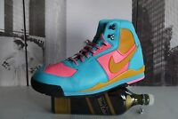 2006 Nike Air BALTORO Leather Teal Blue  BOOTS men's  US 8 / UK 7 SO COOL