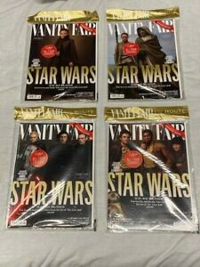 VANITY FAIR MAGAZINE - LIMITED EDITION LAST JEDI - COMPLETE 4 COVER'S COLLECTION