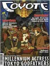 Revue COYOTE MAG numéro 9 MAGAZINE MANGA Yoko Player Okaz Décembre 2003 Epuisé