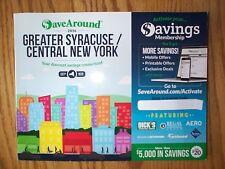 2016 Save Around SaveAround Coupon Book GREATER SYRACUSE CENTRAL NY