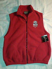 NWT Big Ten Basketball Conference INDIANAPOLIS 2004 M Vest Red