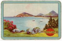 Playing Cards 1 Single Card Old GOLD FLAKE Cigarettes Advertising KILLINEY BAY 1