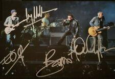 Bono Autographed Signed 8x10 ( U2 ) Photo Reprint