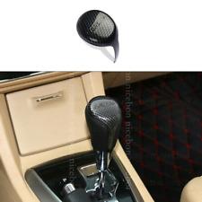 Carbon Fiber Color Inner Gear Shift Knob Cover Trim For Toyota Corolla 2014-2018