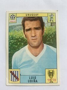 Original Panini Mexico 70 1970 Luis Ubina Uruguay Unused