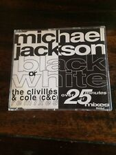MICHAEL JACKSON - BLACK OR WHITE REMIXES MEGA RARE CD SINGLE VGC !!