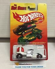 Bubble Gunner * Chase RED Line Tires * Hot Ones Hot Wheels * E11