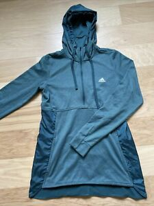 Adidas Women's 1/2 Zip Hooded Running Tennis Athletic Pullover Jacket Size M