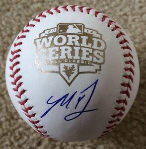 Madison Bumgarner Autographed Signed 2012 World Series Baseball TRISTAR