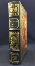 Anna Karenina Leo Tolstoy Franklin Library Oxford University Deluxe Leather