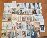 Vintage 1930s- 1970s Christian Prayer / Holy Card Lot (44)