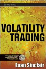 Wiley Trading: Volatility Trading 331 by Euan Sinclair (2008, Hardcover)
