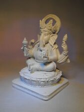 GANESHA GANPATI GANESH OM LORD  HINDU GOD ANTIQUE SMALL ganesh IDOL STATUE DIYA