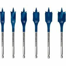 Bosch Expert Selfcut Speed Flachfräsbohrer-set, 14 /16/18/20/ 22/24 MM, 6-tlg