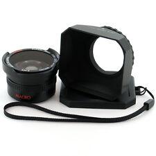 Wide Angle Lens and Hood for Panasonic HDC-SD9,SX5,HS9