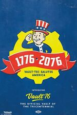 """FALLOUT 76 POSTER """"VAULT 76 TRICENTENNIAL"""" """"LICENSED"""" BRAND NEW 61cm X 91.5cm"""
