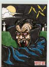 Fantasy Art Sketch Card by Dave Sharpe /1 - Unstoppable Loaded Pack Release