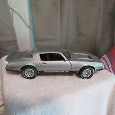 1977 pontiac firebird formula,silver,1:18 scale die cast