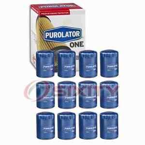 12 pc PurolatorONE PL22500 Engine Oil Filters for Oil Change Lubricant sa