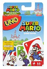 Super Mario UNO card Mattel DRD00 From Japan