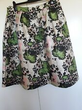 New Skirt Jacquard Next Size UK 20 EUR 48 . Floral  Midi A Line Wedding