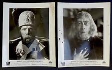 2 photos Napoleon Abel Gance - Tirages argentiques d'époque 1935 -