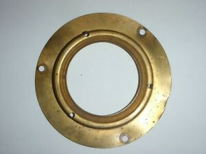 Brass Horn Blowing Contact Plate 1951-1953 Kaiser 51 52 53 # 207772