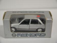 17 ) Gama Mini 1176 Opel Rekord E2 Limousine 4-Türig silber metallic 1:43