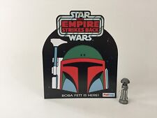 vintage star wars esb custom palitoy boba fett shop / store counter display