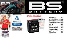 BATTERIA SCOOTER BS BTX7L-BS YTX7L-BS PIAGGIO VESPA PRIMAVERA 50 4T 4V 2015 2017