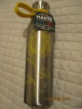 Manna Haute Bottle Yellow Sunflower Stainless Steel 18 Oz Water Bottle Hot /Cold