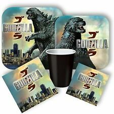 Godzilla Party Supplies,Tableware & Decorations