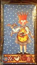 Mary Engelbreit*lunch Bags*sealed Package*5 Count*Girl With Crown Print