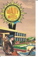 (H) Quality Motel North 1501 East 38th Street Indianapolis, Indiana
