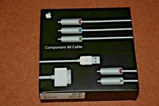 Apple Genuine Component AV Cable MB128LL/B for Iphone and Ipod