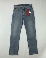 Levi's 514 Jeans Mens 29 X 32 Straight Leg Light Wash Zip Fly