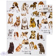 Ashdene Kennel Club | Dogs Puppy K9 Tea Kitchen Towels | Animal | 100% Cotton