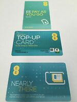 EE superfast 4G new multi pack Pay As You Go Sim Pack Trio -(buy 1 get 2 free)