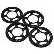 4pcs 2.2 Beadlock Wheel Rings for Axial Wraith AX90018 RC Crawler Matte black