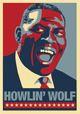 Howlin' Wolf- Bluesman -- 2nd Poster in Series