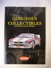 Kyosho Collectibles Original Die-Cast Car Series  Catalogue