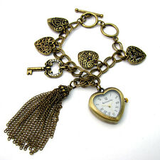 Accessorize Ladies' Bracelet Charm Watch Hearts J1086