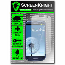Screenknight Samsung Galaxy S3 Front SCREEN PROTECTOR invisible military shield