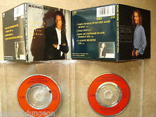 "Michael Bolton   2 CD's   How am I supposed  +  When I'm back  ***  3""  mini ***"
