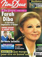 ▬►Nous Deux 2979 (2004) Farah Diba Sophie Davant